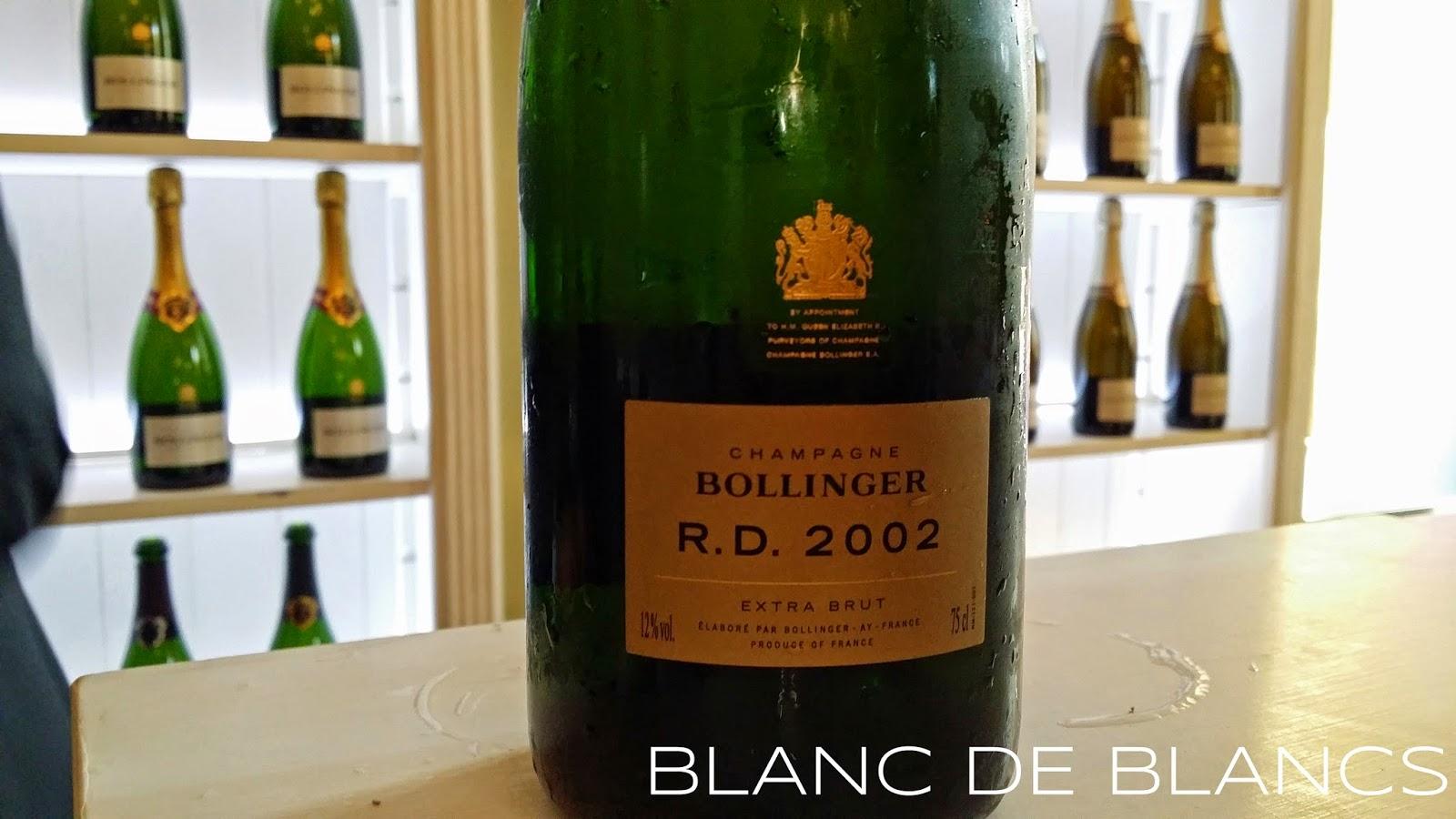 Bollinger R.D. 2002 - www.blancdeblancs.fi