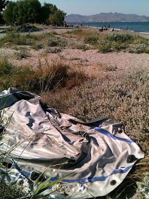 Inflatable on Kos Beach 04