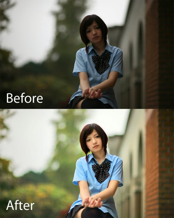 Shadow Recovery of Backlight Problem