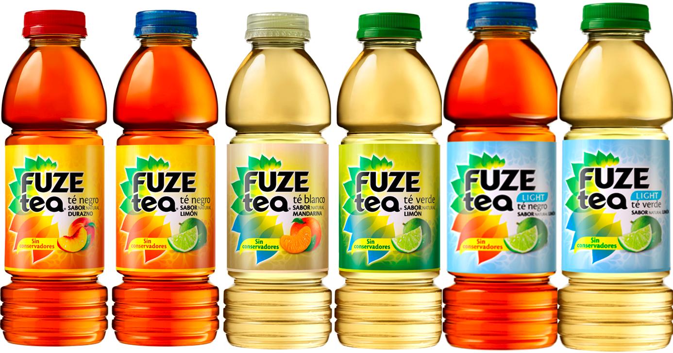 Coca cola lanza fuze tea marca de t listo para beber - Marcas de te ...