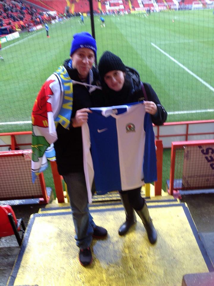 Mexican's first Rovers game at Charlton
