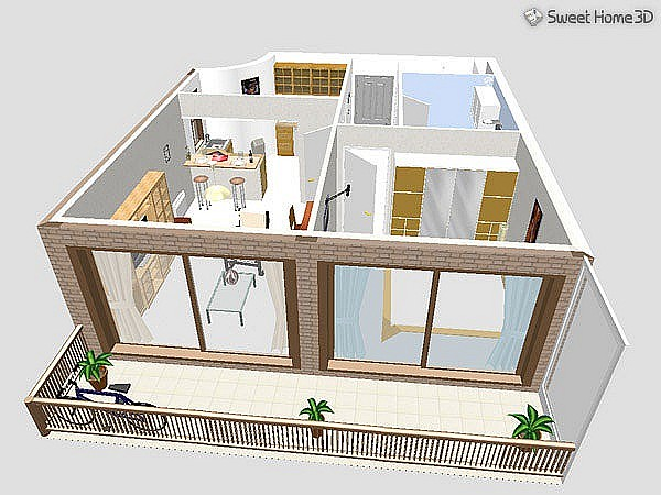 learn and share download softwrare disain rumah sweet home 3d
