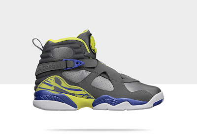 Air Jordan Retro 8 Girls' Shoe 580528-038