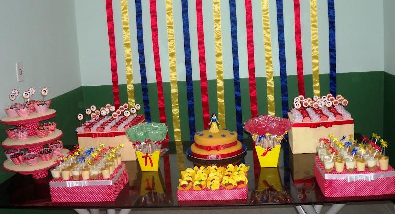 decoracao festa infantil kick buttowski : decoracao festa infantil kick buttowski:Cada detalhe da festinha com o tema A Branca de Neve foi preparado