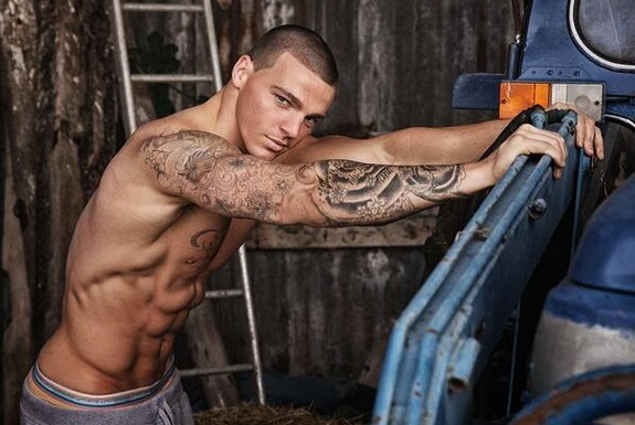 Stuart Tomlinson is keen on body building and also worked as a male model