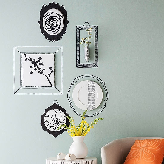 10 DIY para la decoración de pared