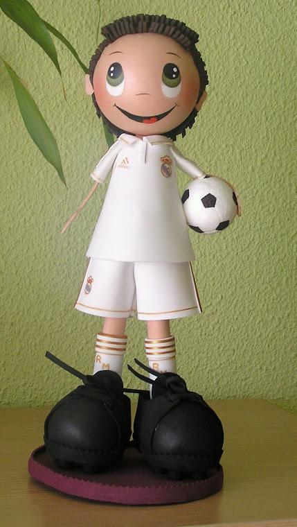 Fito vestido del Real Madrid