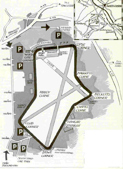 Silverstone Circuit Track 1973