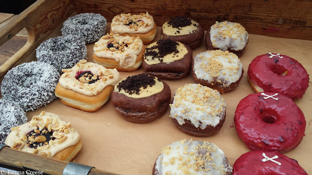 Crosstown Doughnuts: Marylebone Friday figments and photos