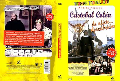 Cover, dvd, caratula: Cristóbal Colón, de oficio... descubridor | 1982