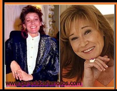 Mila Ximénez de Cisneros antes y después