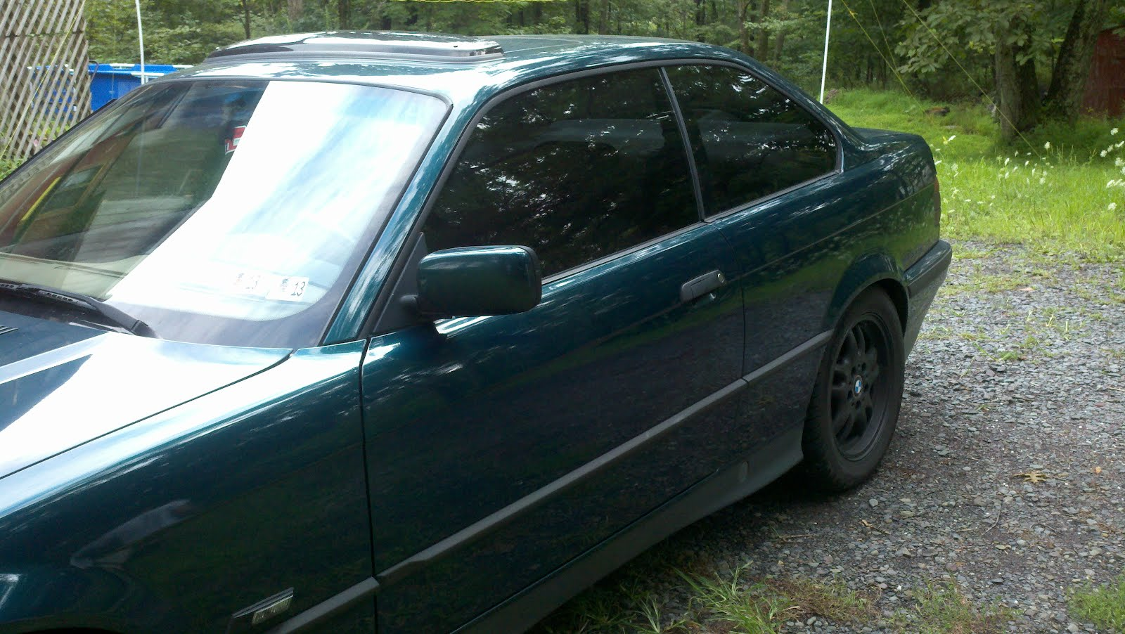 1995 Bmw 325is 20 Window Tint With Flat Black Plasti Dip
