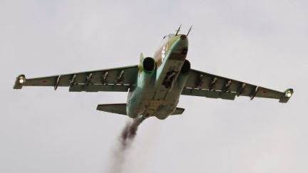 Dua pesawat tempur Ukraina ditembak jatuh