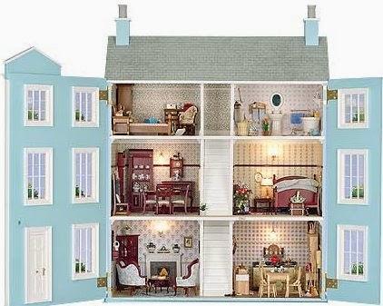 casitas de mu ecas y miniaturas casa de mu ecas clasica