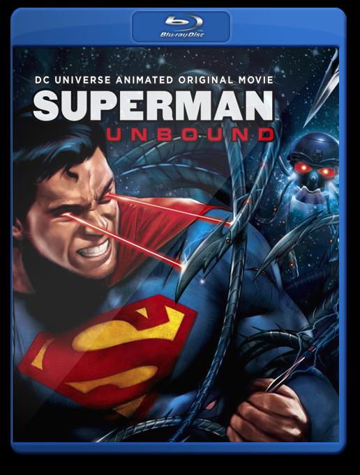Superman Unbound Bluray