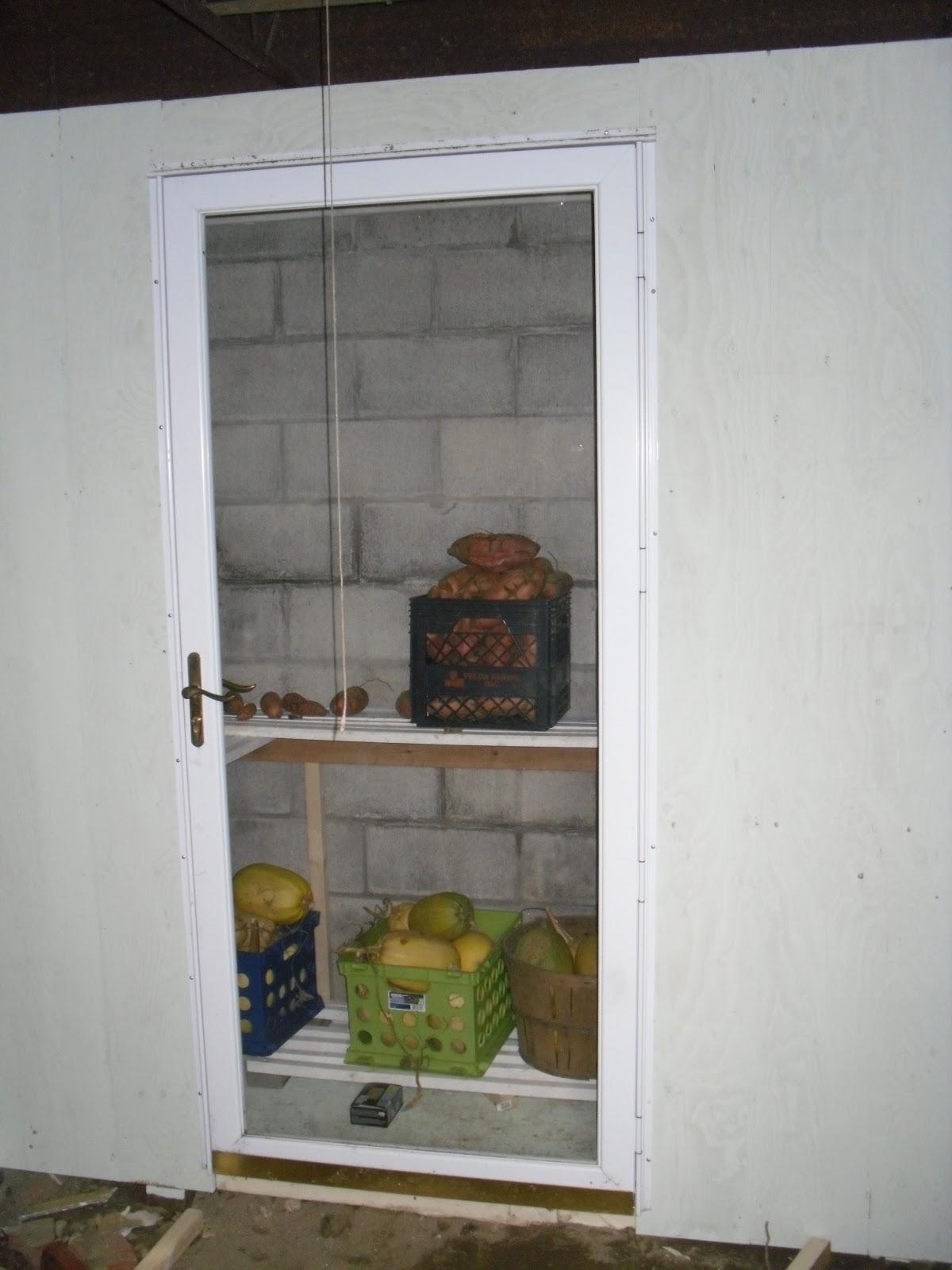 Hereu0027s The Finished Cold Storage Closet!!