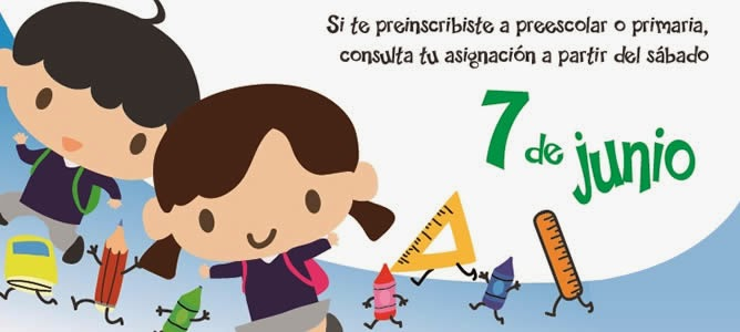 Resultados Asignacion Preescolar Primaria 7 Junio 2014 | Review Ebooks