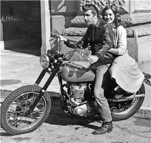 classic motorcycles and the fonz