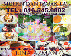 MUFFINS ROJAK AND MORE!