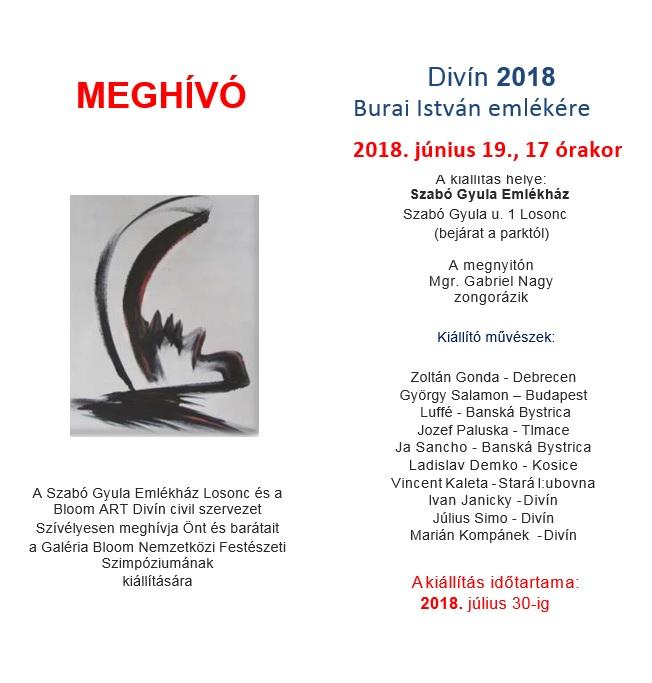 Kiállítás megnyitó a Szabó Gy. Emlékházban
