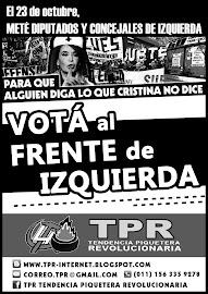 [Elecciones de Octubre] Para que alguien diga lo que Cristina no dice, votá al Frente de Izquierda