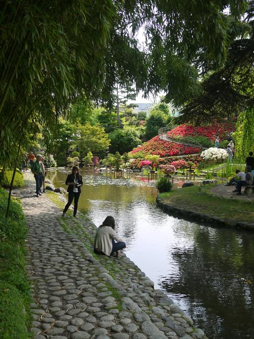 Pinjacolada park life in paris for Jardin albert kahn