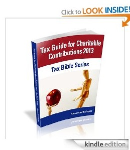 Free eBook Feature: Tax Guide for Charitable Contributions 2013