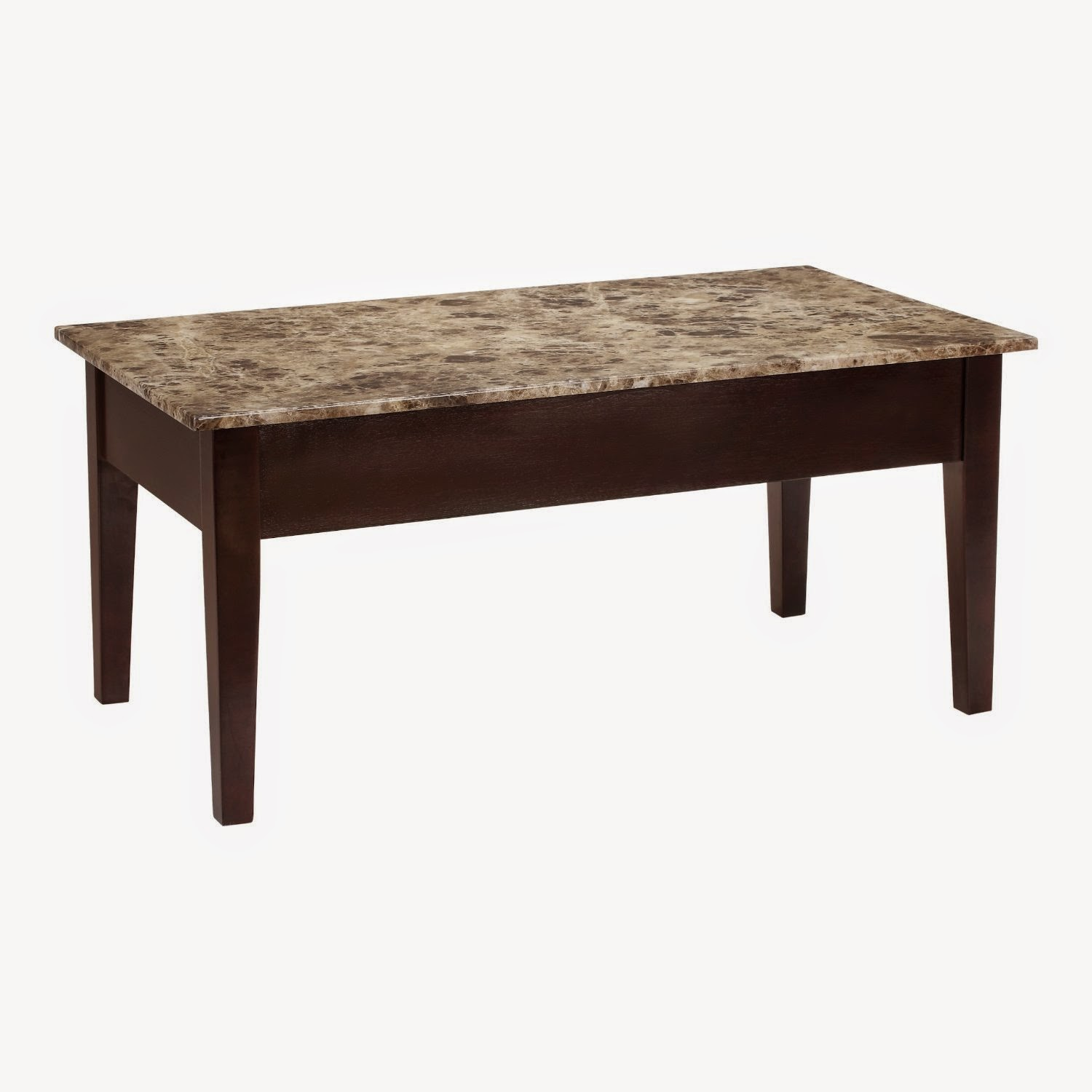Dorel Asia Faux Marble Lift Top Coffee Table