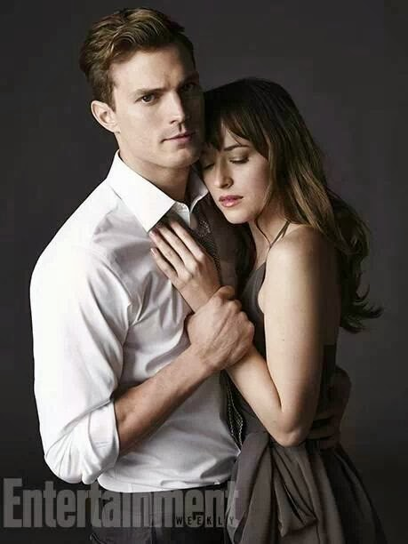 "Jamie Dornan y Dakota Johnson en ""50 Sombras de Grey"""