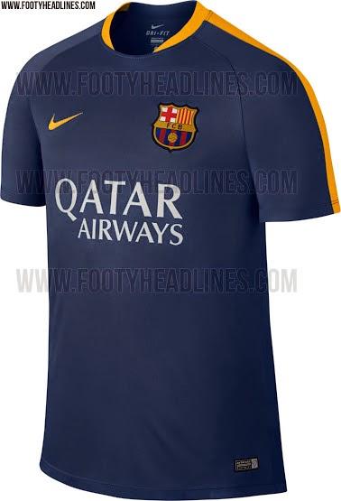 jual jersey training barcelona kedua terbaru musim depan harga murah 2015 2016