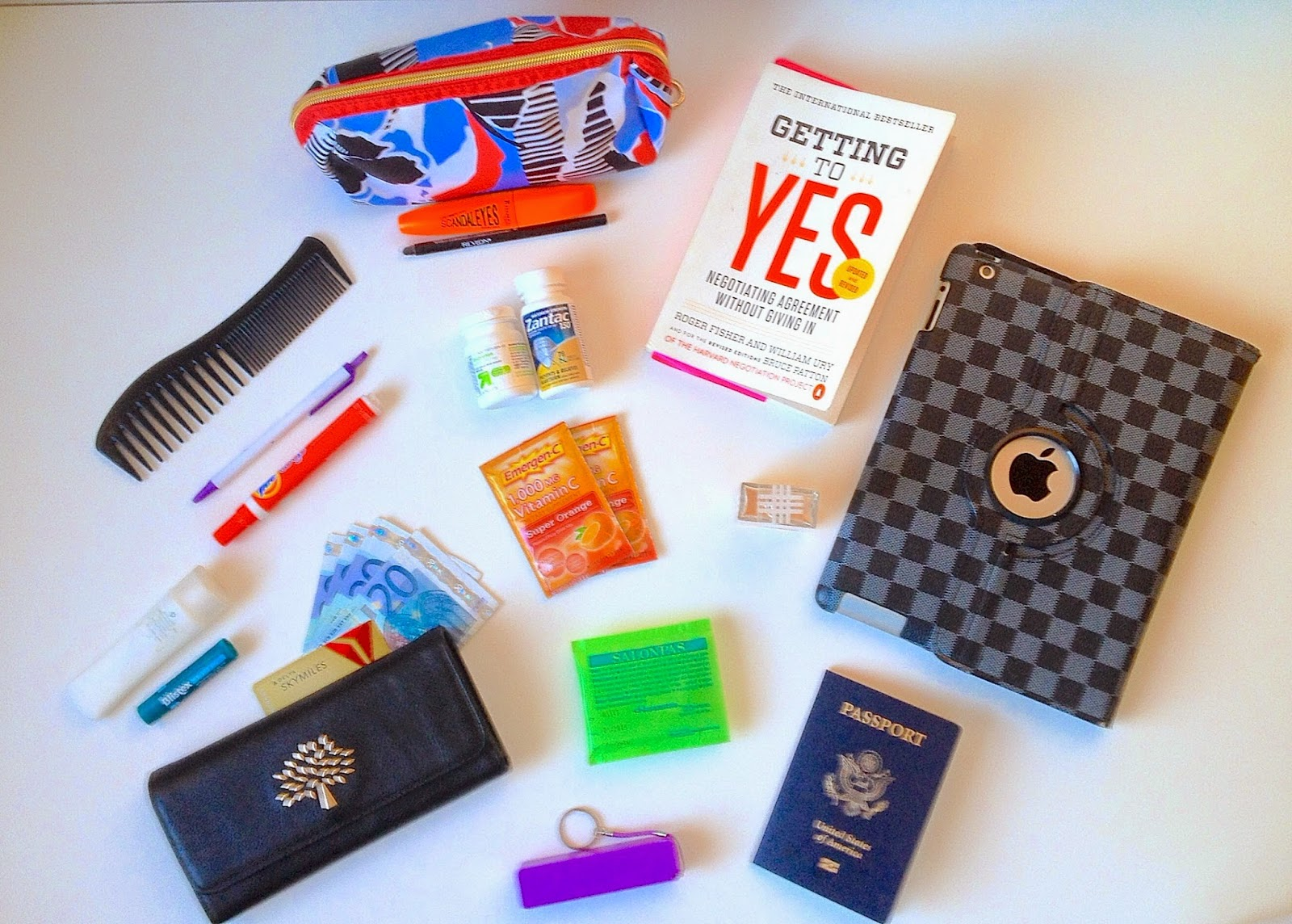 what's in my bag for travel