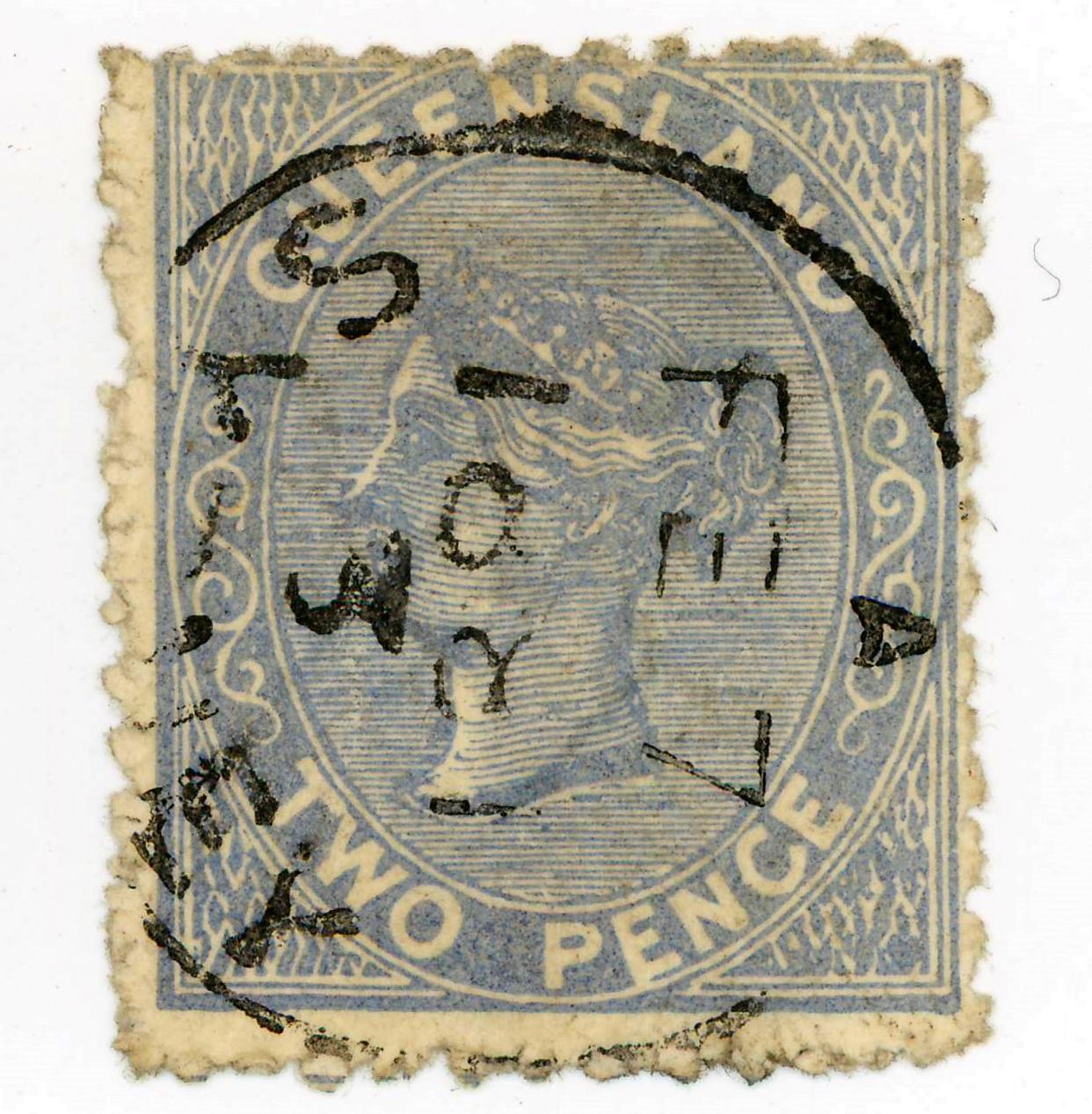 Date stamp in Brisbane