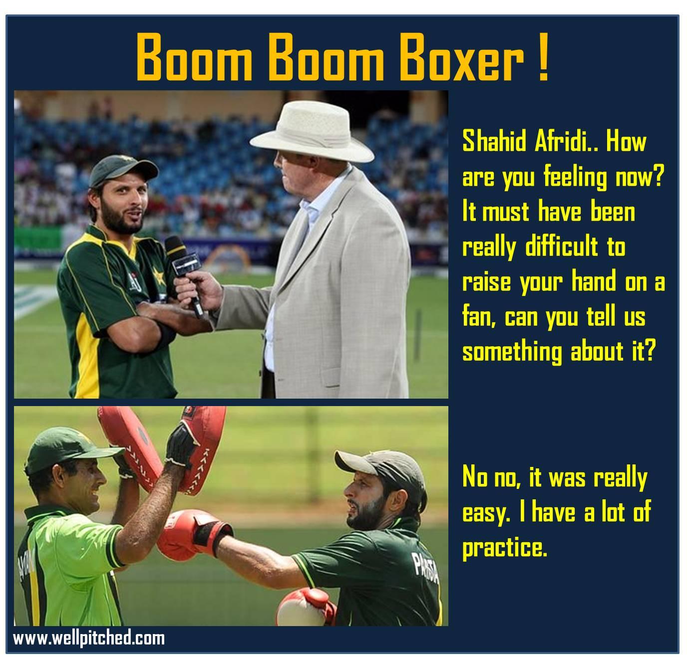Shahid Afridi Fight Vi...