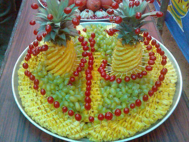 Delly sobremesas decora o com frutas for Decoracion de ensaladas
