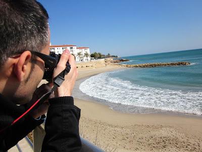 Alguer beach in L' Ametlla de Mar