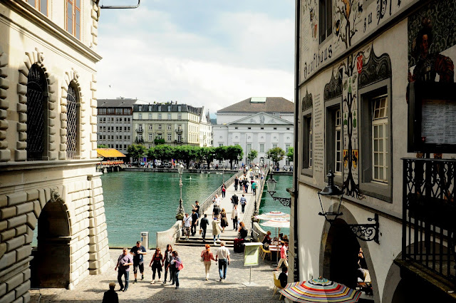 rathaussteg city hall bridge luzern