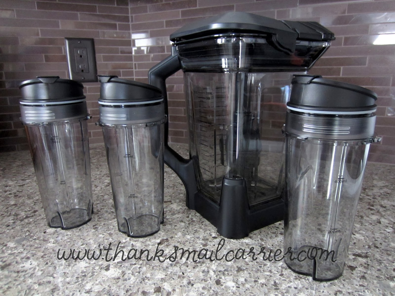 Ninja Ultima blender cups