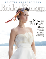 Seattle Metropolitan Bride and Groom magazine cover