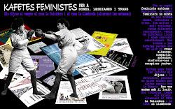 Kafetas feministas para mujeres, lesbianas y trans