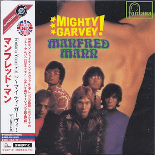 MANFRED MANN - MIGHTY GARVEY! (FONTANA 1968) Jap mastering cardboard sleeve mono+stereo