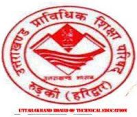 Uttarakhand board of technical education roorkey Uttarakhand 2013