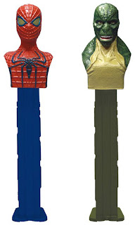 Amazing Spider-Man Pez dispensers