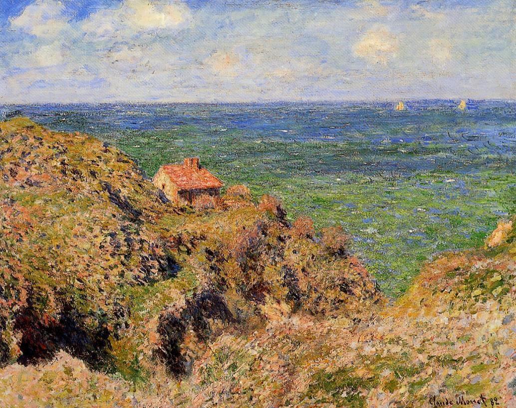 La gorge à Varengeville (1882)