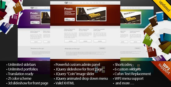 Prosto - Business & Portfolio, CMS Wordpress Theme Free Download by ThemeForest.