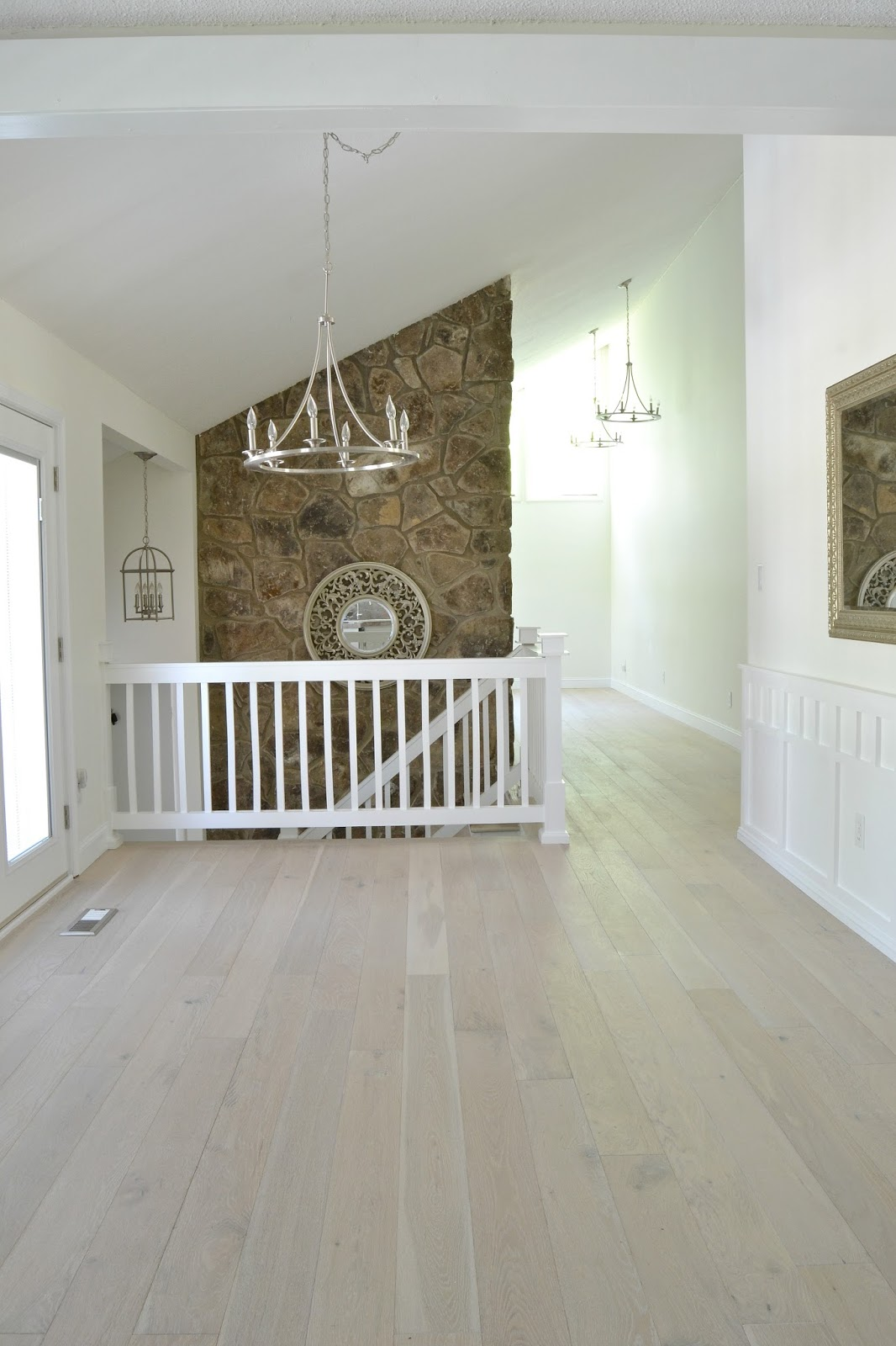 It ... - LiveLoveDIY: Our New White-Washed Hardwood Flooring (and Why We