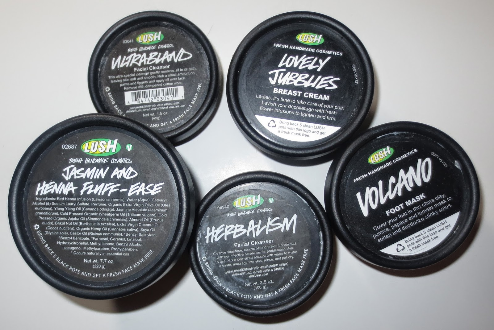 Lush's Recycling Program