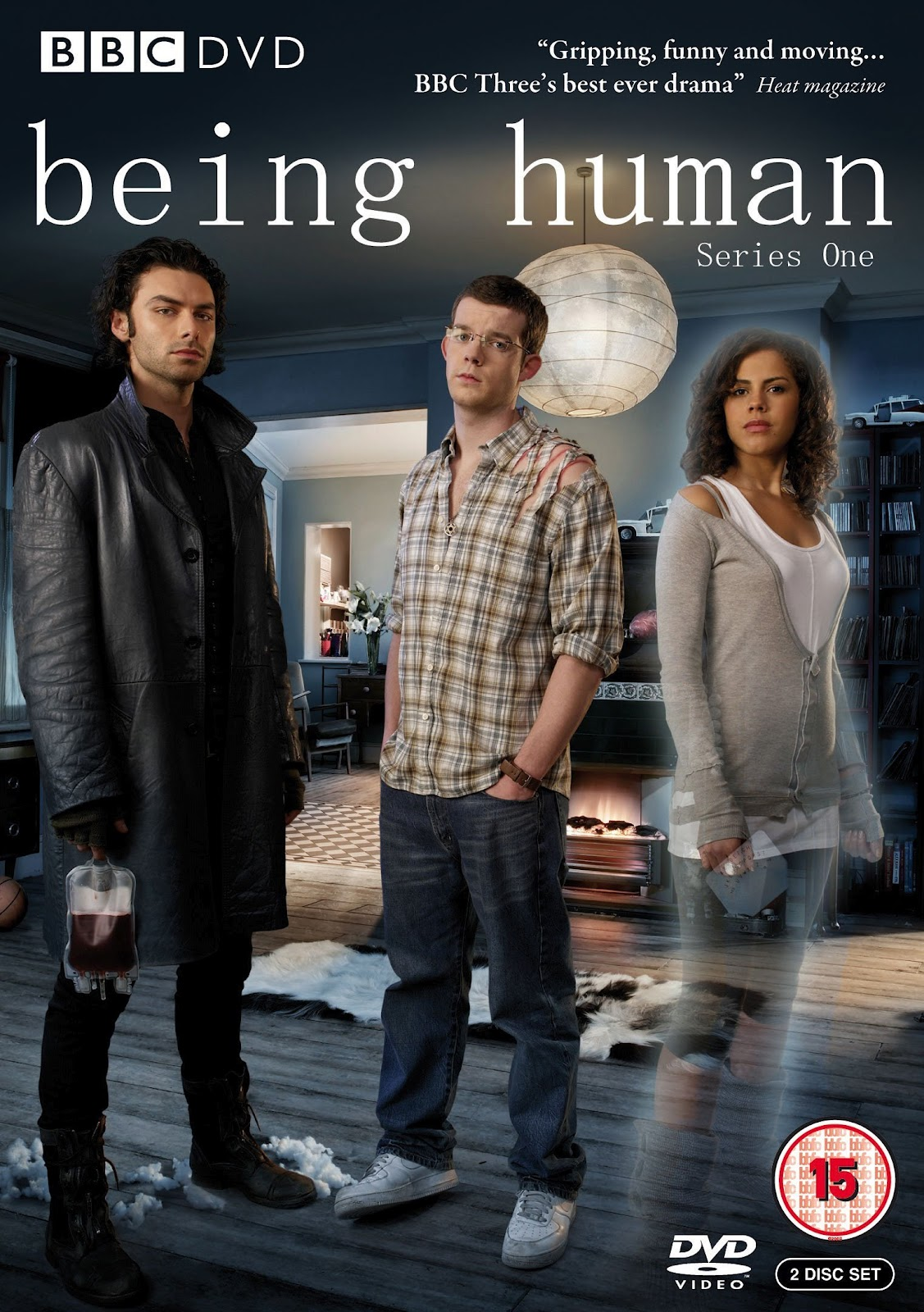 Being Human Season 1 DVD Cover