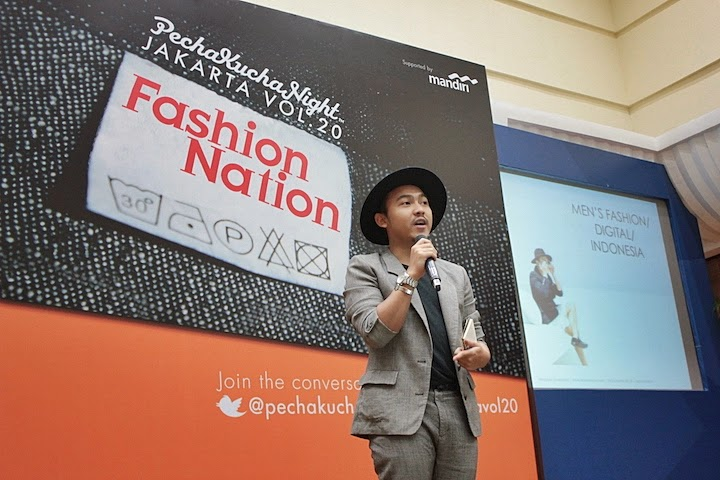 HERDIANA SURACHMAN DELUXSHIONIST PECHA KUCHA NIGHT JAKARTA VOL.20 FASHION NATION