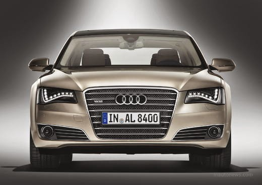 the New Audi A8 L : This Luxury Car Seats Have masseuse