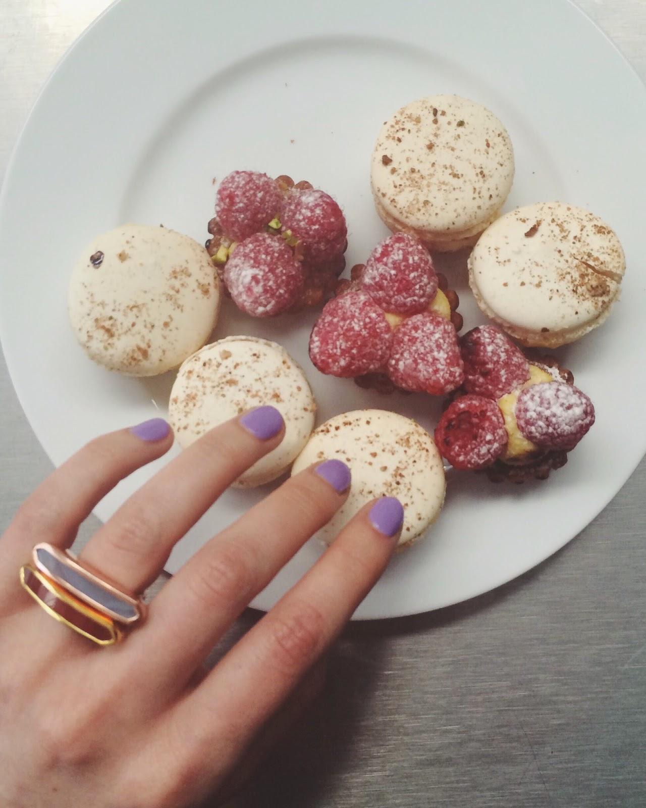 monica vinader baja rings, monica vinader jewellery, Nails inc nail polish, nails inc manicure, Aubaine macaroons, macarons